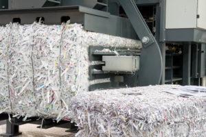 Papierstreifen Paper strips in Bundles