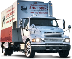 Southern California Shredding Truck